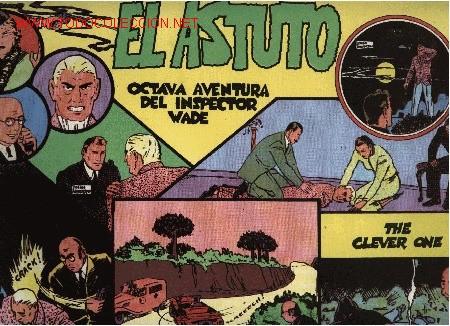 INSPECTOR WADE - EL ASTUTO - Nº 8 - ED. EUROCLUB MAGERIT S.L. 1.995 (Tebeos y Comics - Magerit - Otros)