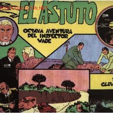 Cómics: INSPECTOR WADE - EL ASTUTO - Nº 8 - ED. EUROCLUB MAGERIT S.L. 1.995. Lote 217673661