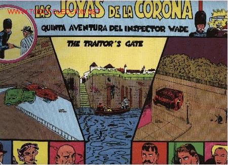 INSPECTOR WADE - LAS JOYAS DE LA CORONA - Nº 5 - ED. EUROCLUB MAGERIT S.L. 1.995 (Tebeos y Comics - Magerit - Otros)