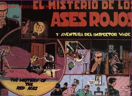 INSPECTOR WADE - EL MISTERIO DE LOS ASES ROJOS - Nº 7 - ED. EUROCLUB MAGERIT S.L. 1.995 (Tebeos y Comics - Magerit - Otros)
