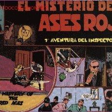 Cómics: INSPECTOR WADE - EL MISTERIO DE LOS ASES ROJOS - Nº 7 - ED. EUROCLUB MAGERIT S.L. 1.995. Lote 14995001