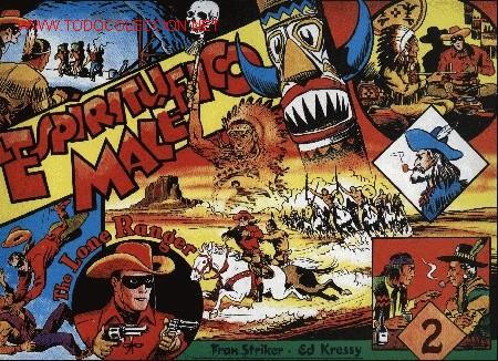 THE LONE RANGER - Nº 2 - FRANK STRIKER * ED KRESSY (REEDICIÓN) - ED. MAGERIT (Tebeos y Comics - Magerit - Lone Ranger)