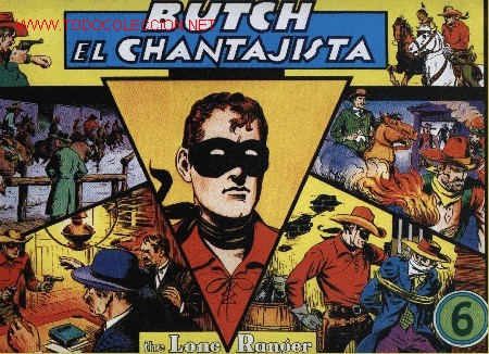 THE LONE RANGER - Nº 6 - FRANK STRIKER * ED KRESSY (REEDICIÓN) - ED. MAGERIT (Tebeos y Comics - Magerit - Lone Ranger)