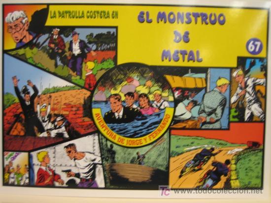 JORGE Y FERNANDO Nº 67 - EDITORIAL MAGERIT (Tebeos y Comics - Magerit - Jorge y Fernando)