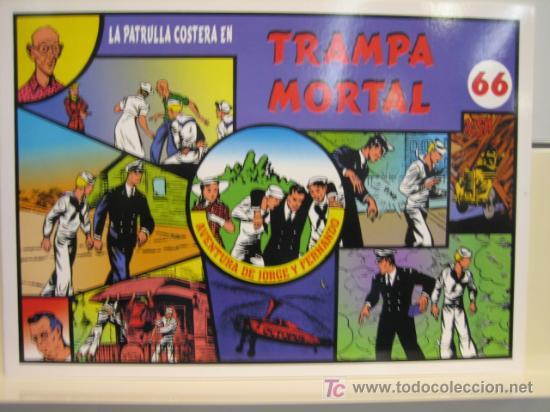 JORGE Y FERNANDO Nº 66 - EDITORIAL MAGERIT (Tebeos y Comics - Magerit - Jorge y Fernando)