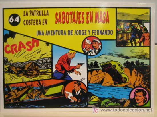 JORGE Y FERNANDO Nº 64 - EDITORIAL MAGERIT (Tebeos y Comics - Magerit - Jorge y Fernando)