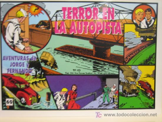 JORGE Y FERNANDO Nº 60 - EDITORIAL MAGERIT (Tebeos y Comics - Magerit - Jorge y Fernando)