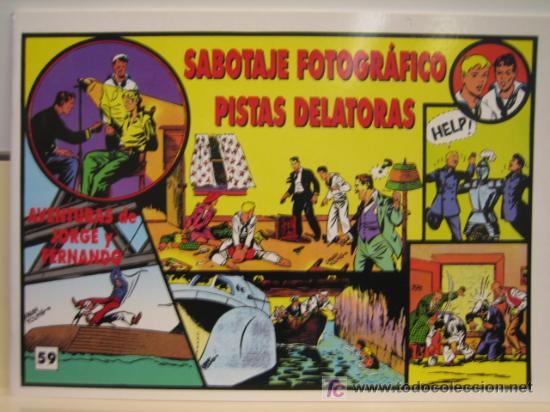 JORGE Y FERNANDO Nº 59 - EDITORIAL MAGERIT (Tebeos y Comics - Magerit - Jorge y Fernando)