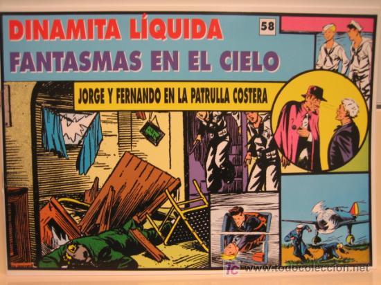 JORGE Y FERNANDO Nº 58 - EDITORIAL MAGERIT (Tebeos y Comics - Magerit - Jorge y Fernando)