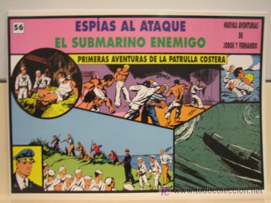 JORGE Y FERNANDO Nº 56 - EDITORIAL MAGERIT (Tebeos y Comics - Magerit - Jorge y Fernando)