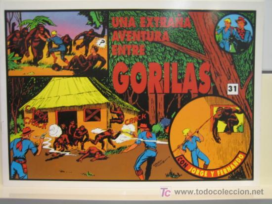 JORGE Y FERNANDO Nº 31 - EDITORIAL MAGERIT (Tebeos y Comics - Magerit - Jorge y Fernando)