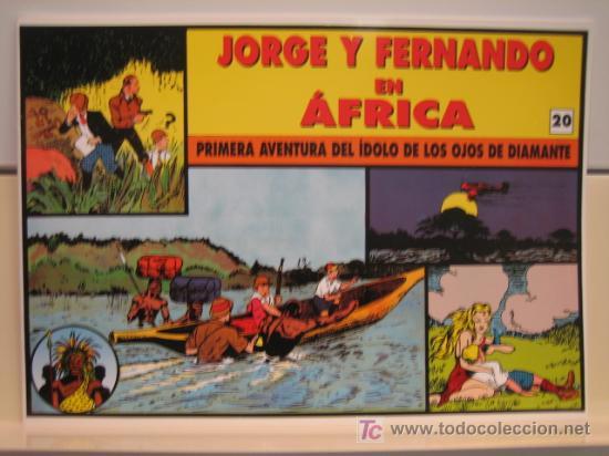 JORGE Y FERNANDO Nº 20 - EDITORIAL MAGERIT (Tebeos y Comics - Magerit - Jorge y Fernando)