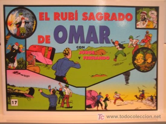 JORGE Y FERNANDO Nº 17 - EDITORIAL MAGERIT (Tebeos y Comics - Magerit - Jorge y Fernando)