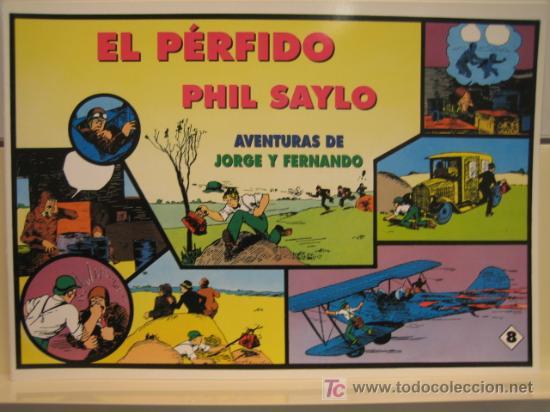 JORGE Y FERNANDO Nº 8 - EDITORIAL MAGERIT (Tebeos y Comics - Magerit - Jorge y Fernando)