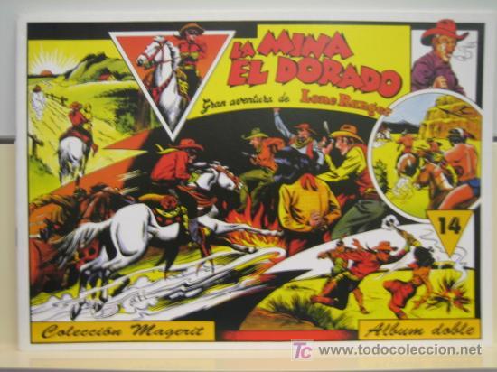 LONE RANGER (LLANERO SOLITARIO) Nº 14 - EDITORIAL MAGERIT (Tebeos y Comics - Magerit - Lone Ranger)
