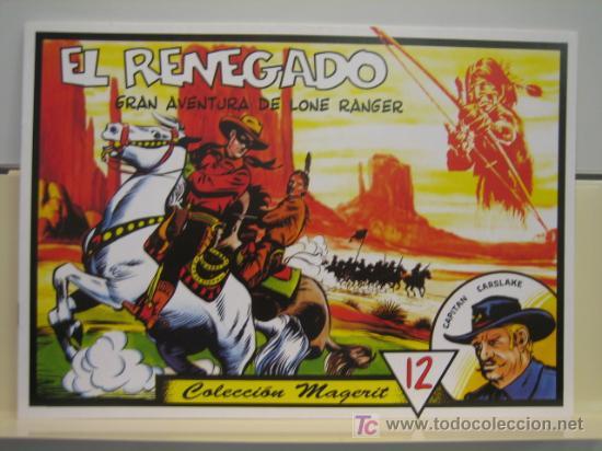 LONE RANGER (LLANERO SOLITARIO) Nº 12 - EDITORIAL MAGERIT (Tebeos y Comics - Magerit - Lone Ranger)
