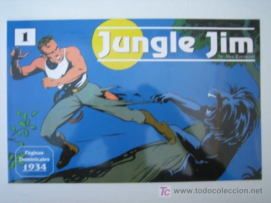 JUNGLE JIM (JIM DE LA JUNGLA) Nº 1 - EDITORIAL MAGERIT OFERTA (Tebeos y Comics - Magerit - Jungle Jim)