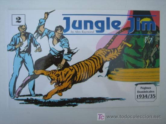 Cómics: JUNGLE JIM (JIM DE LA JUNGLA) Nº 2 - EDITORIAL MAGERIT - Foto 1 - 130767671