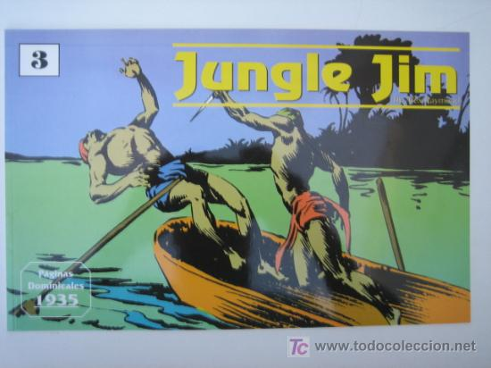 JUNGLE JIM (JIM DE LA JUNGLA) Nº 3 - EDITORIAL MAGERIT (Tebeos y Comics - Magerit - Jungle Jim)