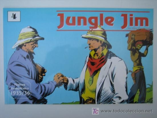 JUNGLE JIM (JIM DE LA JUNGLA) Nº 4 - EDITORIAL MAGERIT (Tebeos y Comics - Magerit - Jungle Jim)
