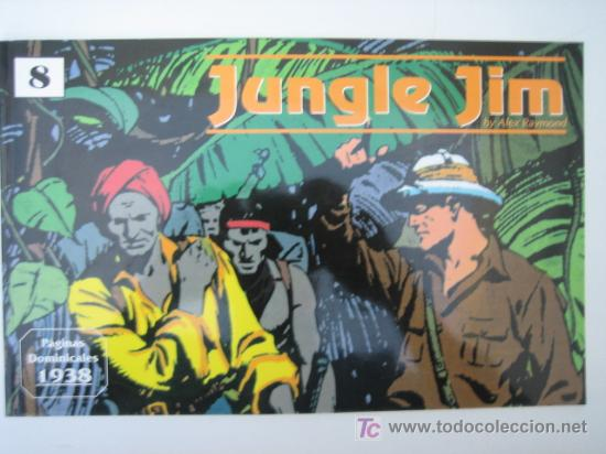 JUNGLE JIM (JIM DE LA JUNGLA) Nº 8 - EDITORIAL MAGERIT (Tebeos y Comics - Magerit - Jungle Jim)