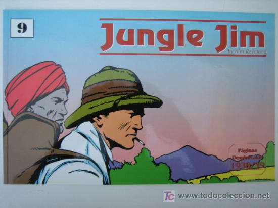 JUNGLE JIM (JIM DE LA JUNGLA) Nº 9 - EDITORIAL MAGERIT (Tebeos y Comics - Magerit - Jungle Jim)
