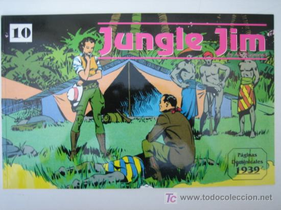 JUNGLE JIM (JIM DE LA JUNGLA) Nº 10 - EDITORIAL MAGERIT (Tebeos y Comics - Magerit - Jungle Jim)