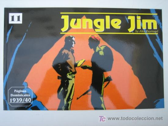 JUNGLE JIM (JIM DE LA JUNGLA) Nº 11 - EDITORIAL MAGERIT (Tebeos y Comics - Magerit - Jungle Jim)
