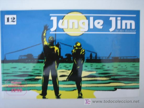 JUNGLE JIM (JIM DE LA JUNGLA) Nº 12 - EDITORIAL MAGERIT (Tebeos y Comics - Magerit - Jungle Jim)