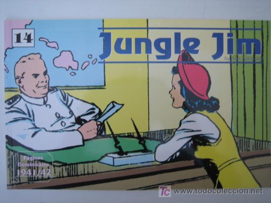 JUNGLE JIM (JIM DE LA JUNGLA) Nº 14 - EDITORIAL MAGERIT (Tebeos y Comics - Magerit - Jungle Jim)