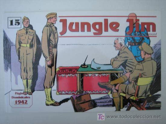 JUNGLE JIM (JIM DE LA JUNGLA) Nº 15 - EDITORIAL MAGERIT (Tebeos y Comics - Magerit - Jungle Jim)