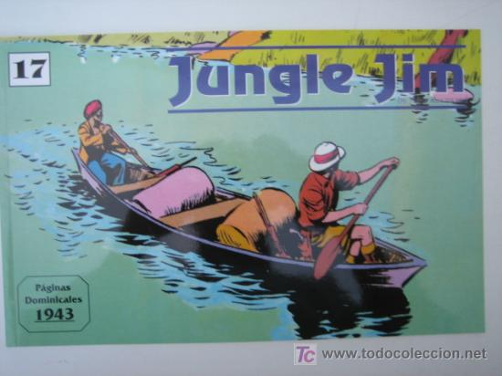 JUNGLE JIM (JIM DE LA JUNGLA) Nº 17 - EDITORIAL MAGERIT (Tebeos y Comics - Magerit - Jungle Jim)