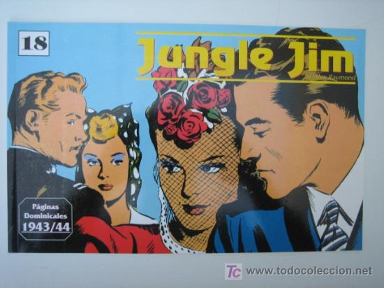 JUNGLE JIM (JIM DE LA JUNGLA) Nº 18 - EDITORIAL MAGERIT (Tebeos y Comics - Magerit - Jungle Jim)