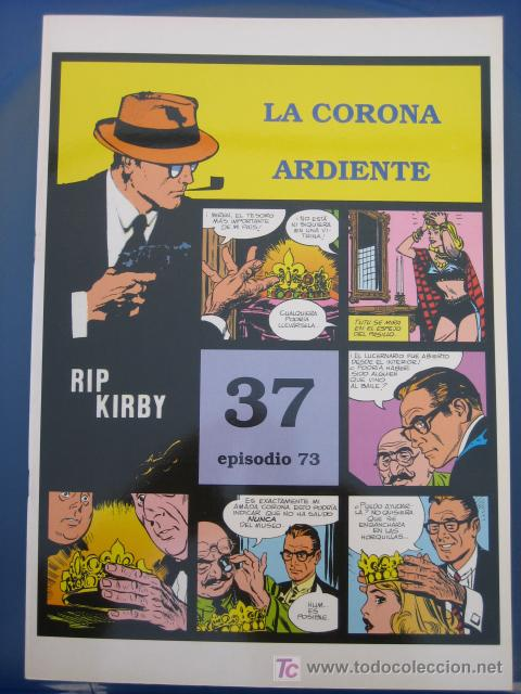 RIP KIRBY - EDIT. MAGERIT - EPISODIO Nº 73 (J. PRENTICE) ¡¡OFERTA!! (Tebeos y Comics - Magerit - Rip Kirby)