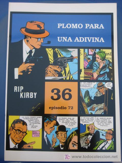 RIP KIRBY - EDIT. MAGERIT - EPISODIO Nº 72 (J. PRENTICE) ¡¡OFERTA!! (Tebeos y Comics - Magerit - Rip Kirby)