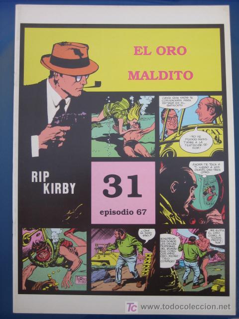 RIP KIRBY - EDIT. MAGERIT - EPISODIO Nº 67 (J. PRENTICE) ¡¡OFERTA!! (Tebeos y Comics - Magerit - Rip Kirby)