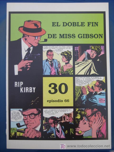 RIP KIRBY - EDIT. MAGERIT - EPISODIO Nº 66 (J. PRENTICE) ¡¡OFERTA!! (Tebeos y Comics - Magerit - Rip Kirby)