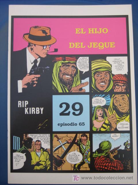 RIP KIRBY - EDIT. MAGERIT - EPISODIO Nº 65 (J. PRENTICE) ¡¡OFERTA!! (Tebeos y Comics - Magerit - Rip Kirby)