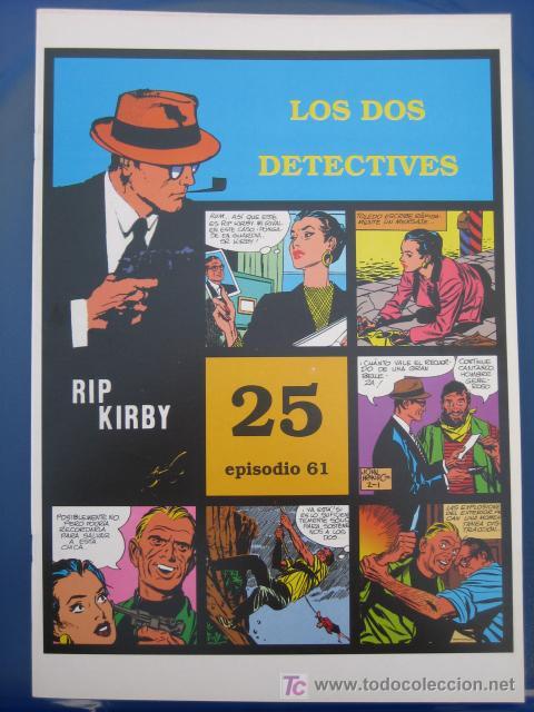 RIP KIRBY - EDIT. MAGERIT - EPISODIO Nº 61 (J. PRENTICE) ¡¡OFERTA!! (Tebeos y Comics - Magerit - Rip Kirby)