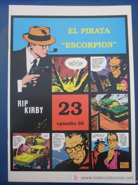 RIP KIRBY - EDIT. MAGERIT - EPISODIO Nº 59 (J. PRENTICE) ¡¡OFERTA!! (Tebeos y Comics - Magerit - Rip Kirby)