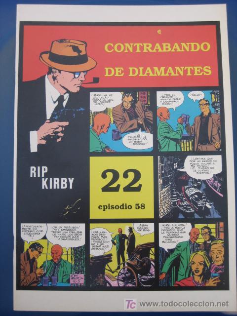 RIP KIRBY - EDIT. MAGERIT - EPISODIO Nº 58 (J. PRENTICE) ¡¡OFERTA!! (Tebeos y Comics - Magerit - Rip Kirby)