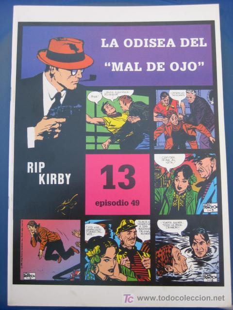 RIP KIRBY - EDIT. MAGERIT - EPISODIO Nº 49 (J. PRENTICE) OFERTA (Tebeos y Comics - Magerit - Rip Kirby)