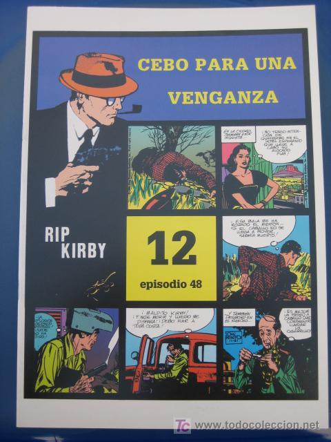 RIP KIRBY - EDIT. MAGERIT - EPISODIO Nº 48 (J. PRENTICE) OFERTA (Tebeos y Comics - Magerit - Rip Kirby)