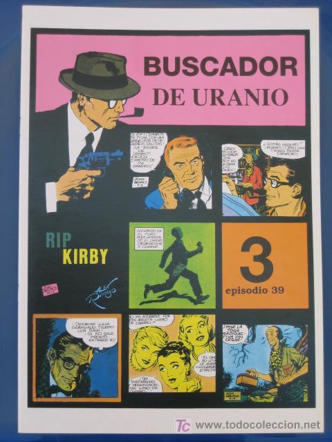 RIP KIRBY - EDIT. MAGERIT - EPISODIO Nº 39 (J. PRENTICE) ¡¡OFERTA!! (Tebeos y Comics - Magerit - Rip Kirby)