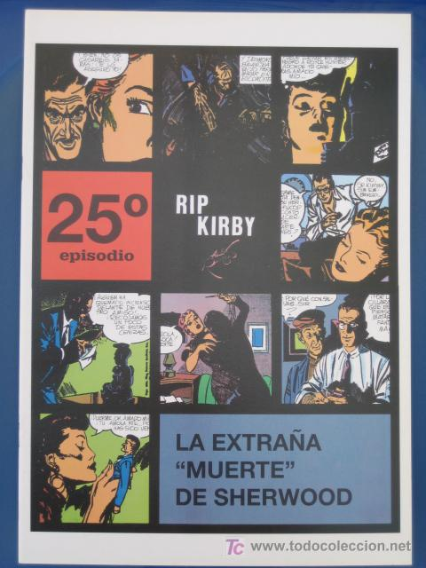 RIP KIRBY - EDIT. MAGERIT - EPISODIO Nº 25 (A. RAYMOND) ¡¡OFERTA!! (Tebeos y Comics - Magerit - Rip Kirby)