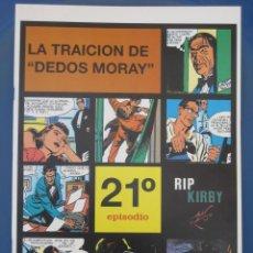 Cómics: RIP KIRBY - EDIT. MAGERIT - EPISODIO Nº 21 (A. RAYMOND) ¡¡OFERTA!!. Lote 26219646