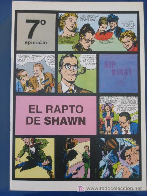 RIP KIRBY - EDIT. MAGERIT - EPISODIO Nº 7 (A. RAYMOND) ¡¡OFERTA!! (Tebeos y Comics - Magerit - Rip Kirby)