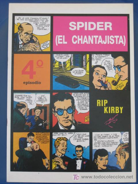 RIP KIRBY - EDIT. MAGERIT - EPISODIO Nº 4 (A. RAYMOND) ¡¡OFERTA!! (Tebeos y Comics - Magerit - Rip Kirby)
