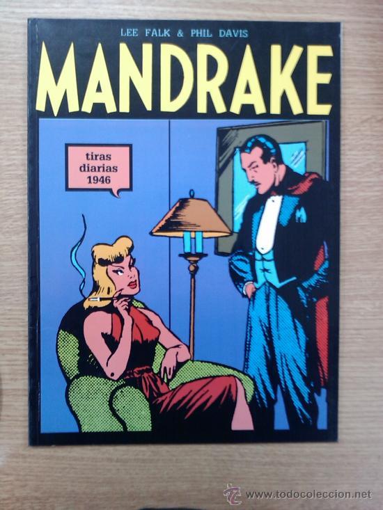 MANDRAKE TIRAS DIARIAS TOMO 8 (Tebeos y Comics - Magerit - Mandrake)