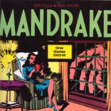 Cómics: MANDRAKE. LEE FALK & PHIL DAVIS. TIRAS DIARIAS 1943/1944. EDITORIAL MAGERIT.. Lote 26516068